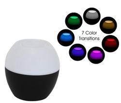 Jensen Bluetooth Wireless Speaker with Color Changing LED Lamp