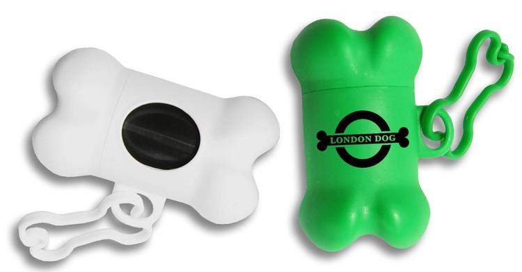 d70c7021cf7f Bone-Shaped Pet Waste Bag Dispenser - 1 Color Imprint - 705-6490 ...