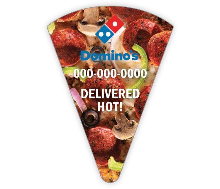 Domino's Pizza Slice Magnet - Combo