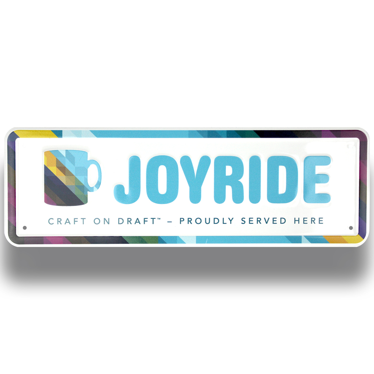 Auto Rider License Plates & Fence Signs-4 COLOR PROCESS (Embossed)