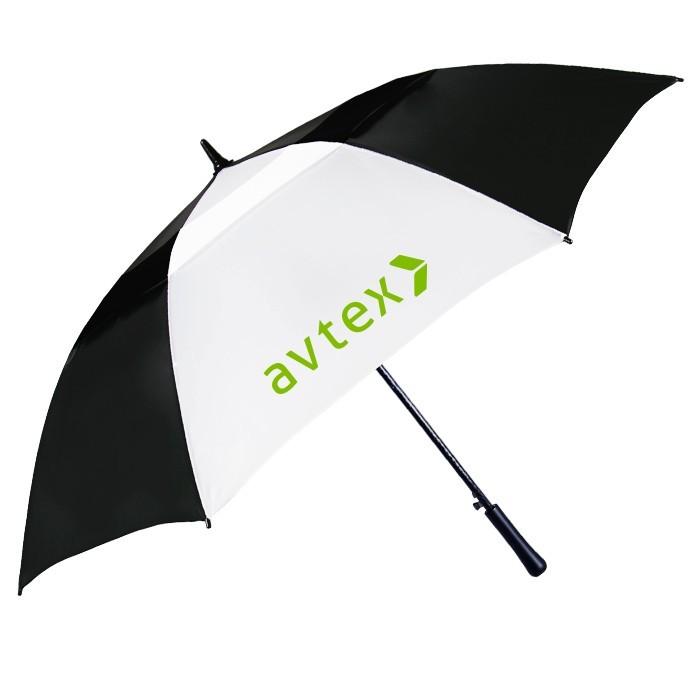 54 Inch Fiberglass Auto Open Vented Golf Umbrella SALE $11.99 Until September 30, 2017