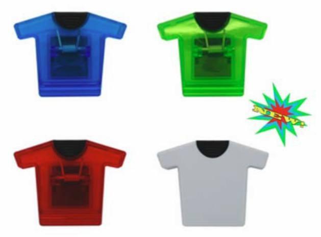 Clip - Magnetic Jumbo Shirt Shape