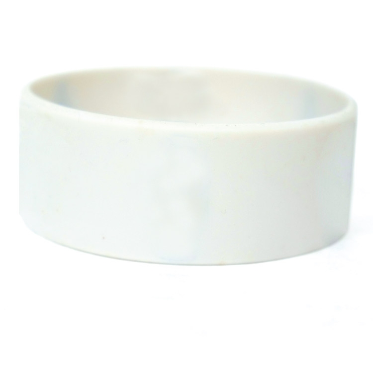 25mm CUSTOM Silicone imprint Wristbands