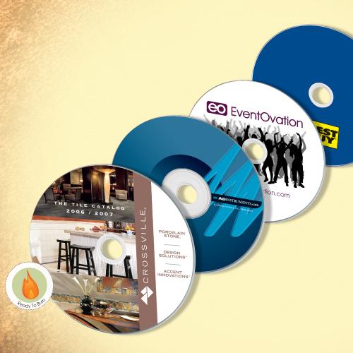 Full Color Custom Printed DVD-Rs