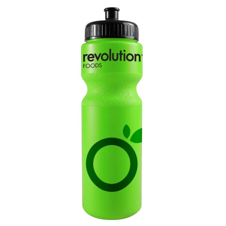 28 Oz Sports Bottle With Push Pull Lid