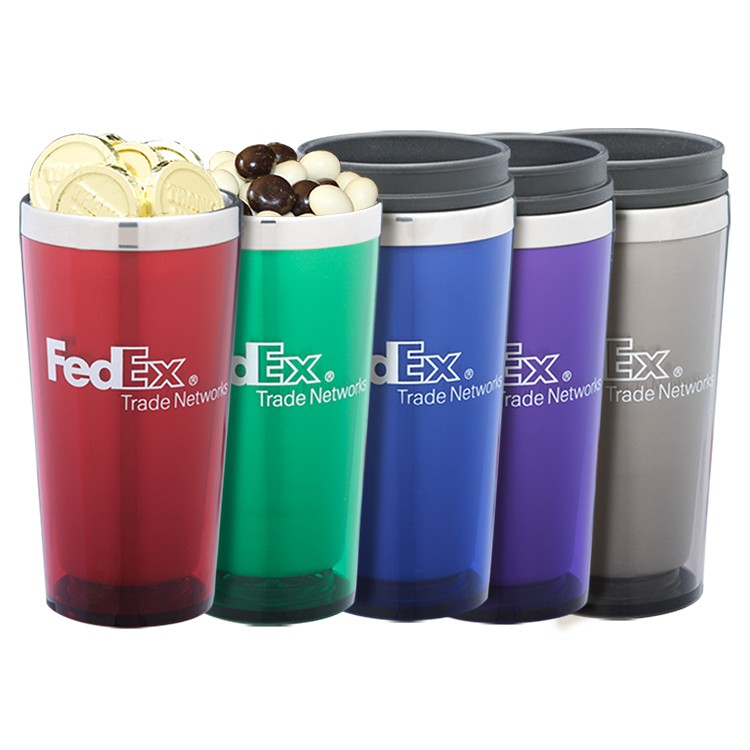 Travel Mug with your choice of fillings