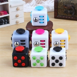 The Fiddle FIDGET Cube Hot New Stress Toy Click It Pop Rub Spin And Even Rock