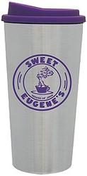 Joe 2 Go Steel City Tumbler w/Purple Lid