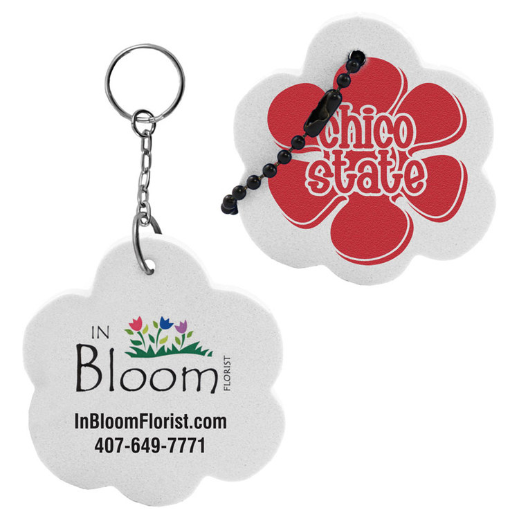 Flower Key Tag - Flower Key Tag