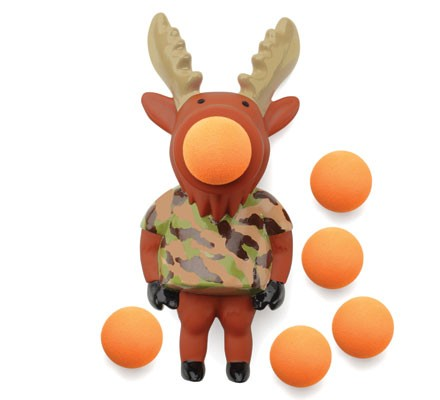 Moose Popper Toy / moose / hunting / camo / toys / unique / fun