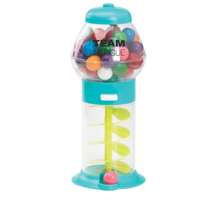 7 1/4 Assorted Color Mini Gumball Machine