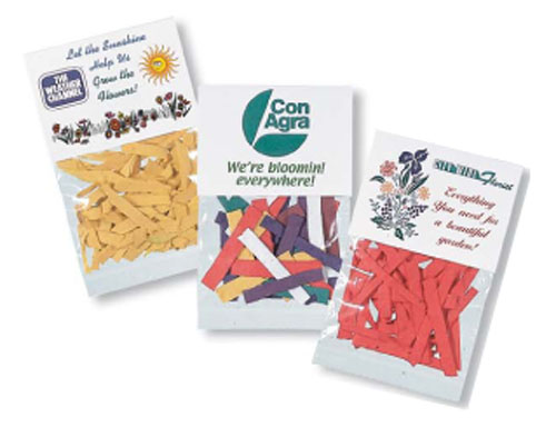 Flower Seeded Paper Confetti Packet