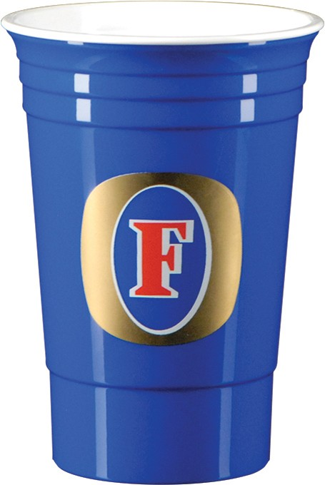 16 oz Double Wall Party Cup - Blue