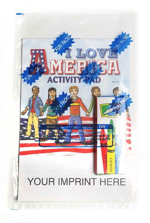 ACTIVITY PAD SET - I Love America Activity Pad Fun Pack
