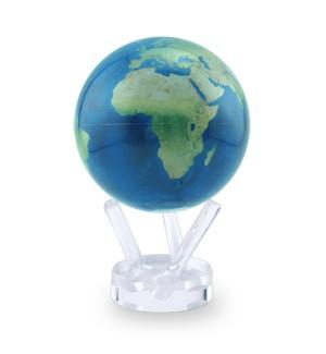 4.5 Inch Mova Globe - Satellite view Natural Earth