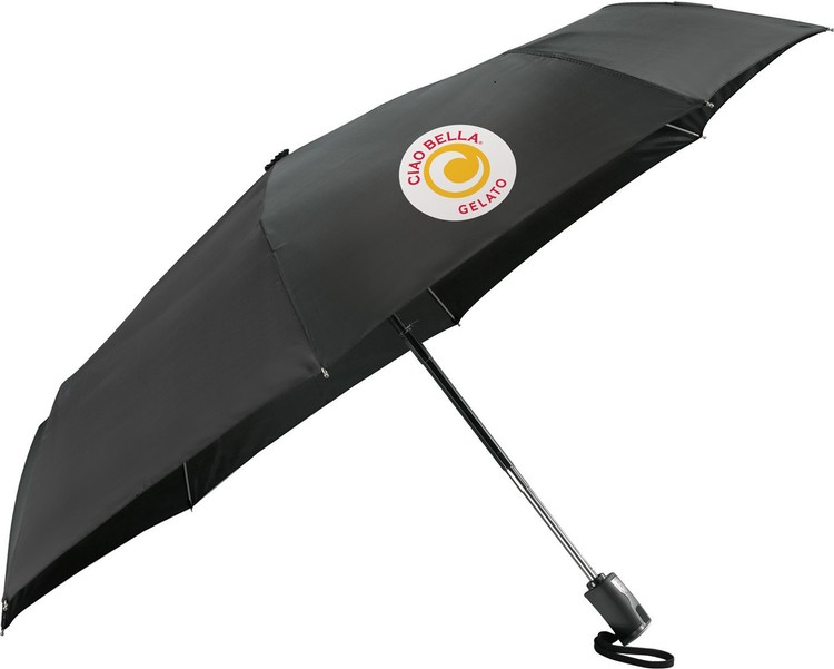 High Sierra® 42 Inch Compact Auto Open/Close Folding Umbrella CLEARANCE