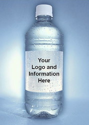 Custom Bottled Water - 16.9 ounces