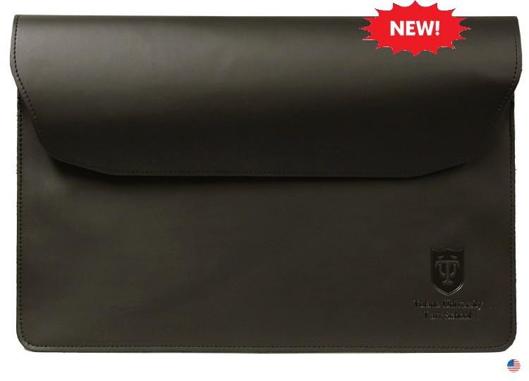 Leather Document Holder w/Deboss imprint