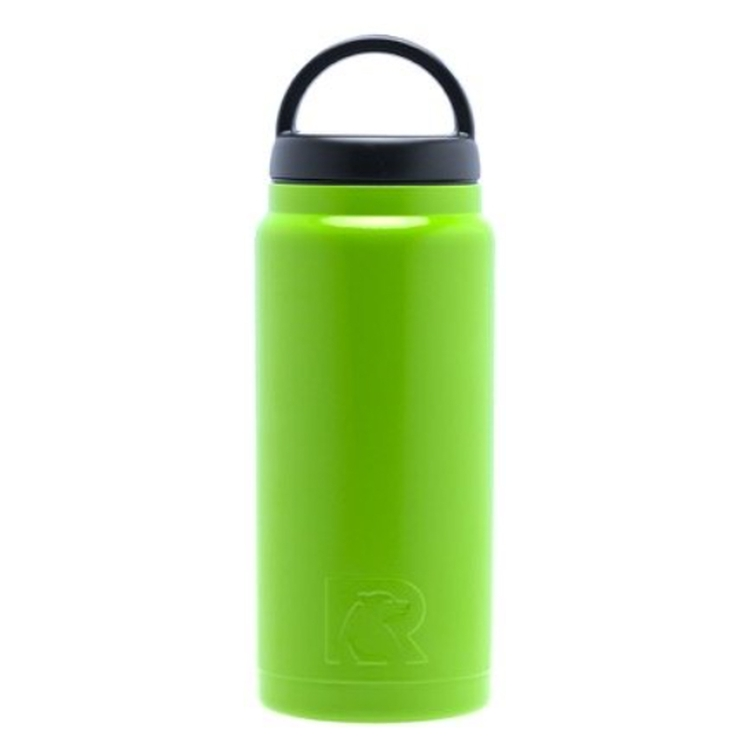 5d850eeddf RTIC 18oz Lime Green Stainless Steel Bottle. # RS-18BLG-DC