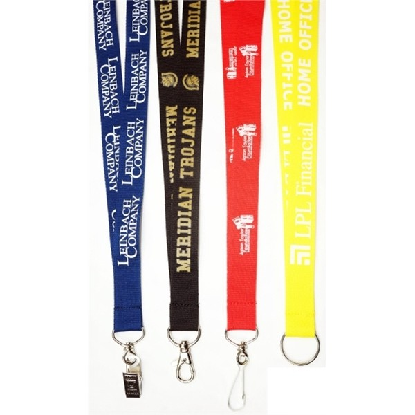 3/4 (20mm) Polyster Lanyards