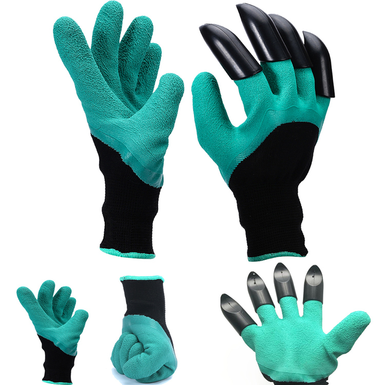 Generous 1 Pair Wrist Protection Security Long Sleeve Gardening Labor Trimming Cold-proof Pruning Anti Stab Gloves Thicken Tools Planting Back To Search Resultstools
