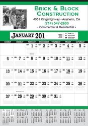 Contractor's 13-Sheet Calendars - wall calendar