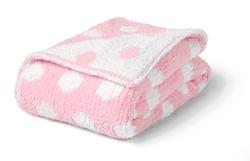Chunky Chenille Polka Dot Blanket