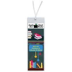 2 x 6 Open Sleeve Bookmark