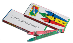 CRAYONS - 4-Pack Box of Children's Crayons - Crayons Box