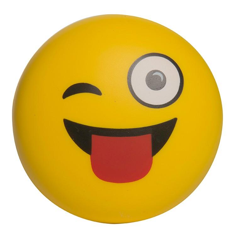 Wink Wink Emoji Squeezies Stress Reliever