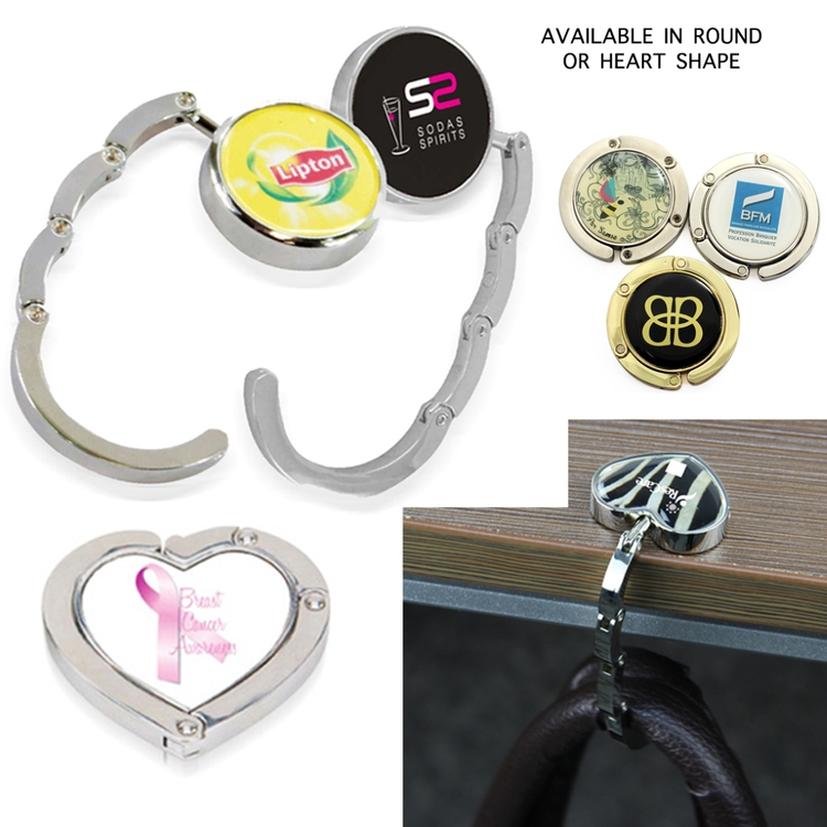 Magnetic Purse Hanger - Heart Shaped