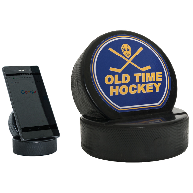 Hockey Puck Smart Device Stand