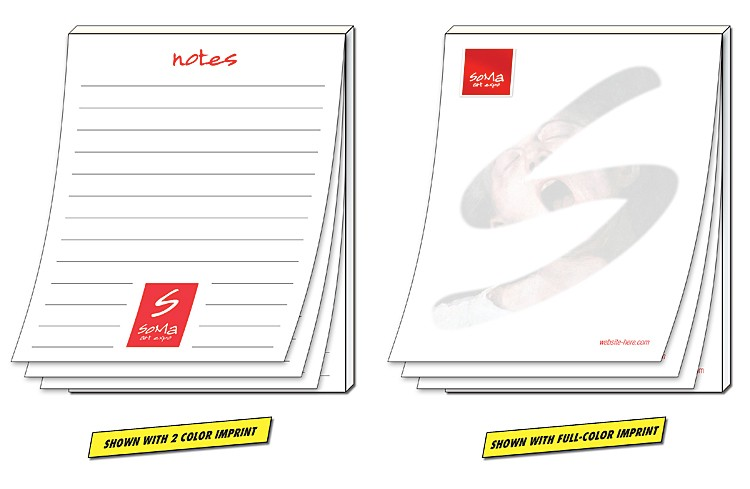 Scratch Pad / Notepad - 100 Sheets - 4.25x5.5