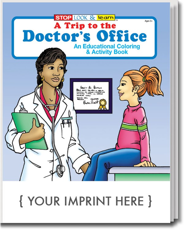 COLORING BOOK - A Trip to the Doctor's Office Coloring & Activity Book