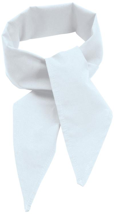 C22 Poplin Neckerchief White