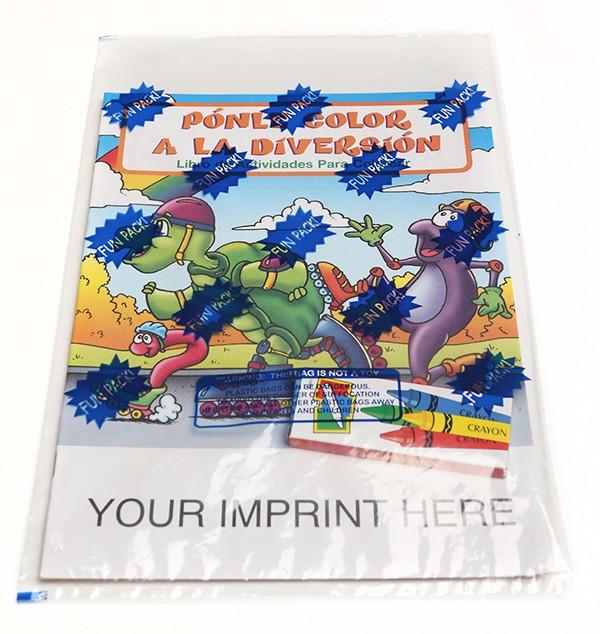 Coloring Set Fun To Color Spanish Coloring Book Fun Pack
