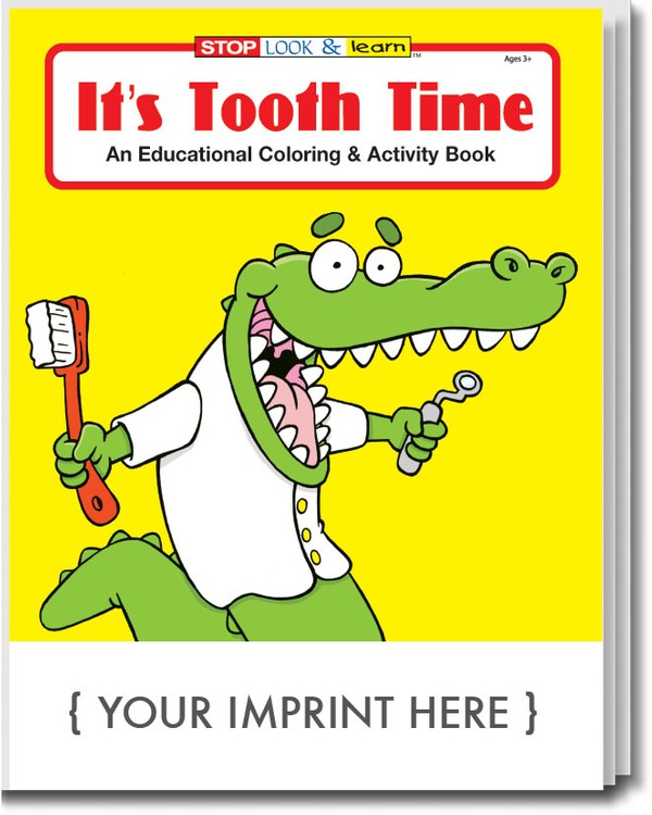 - COLORING BOOK - It's Tooth Time Coloring & Activity Book - 0335 Coloring  Book Solutions