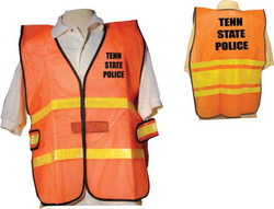 Orange Mesh Safety Vest Rx - Extra Large