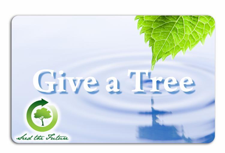 Plant-A-Tree - 3 Tree Card