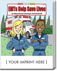 COLORING BOOK - EMTs Help Save Lives Coloring & Activity Book - Coloring Book