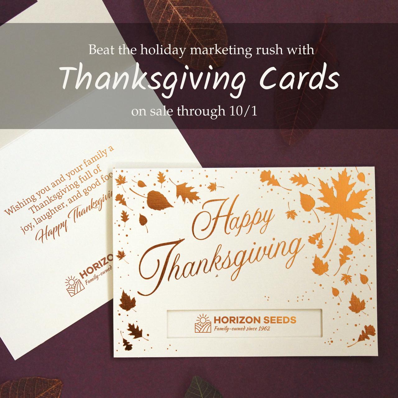 Thanksgiving greeting cards on sale | Warwick Publishing