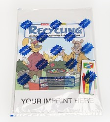 COLORING SET - Recycling Coloring Book Fun Pack - Coloring Book Fun Pack