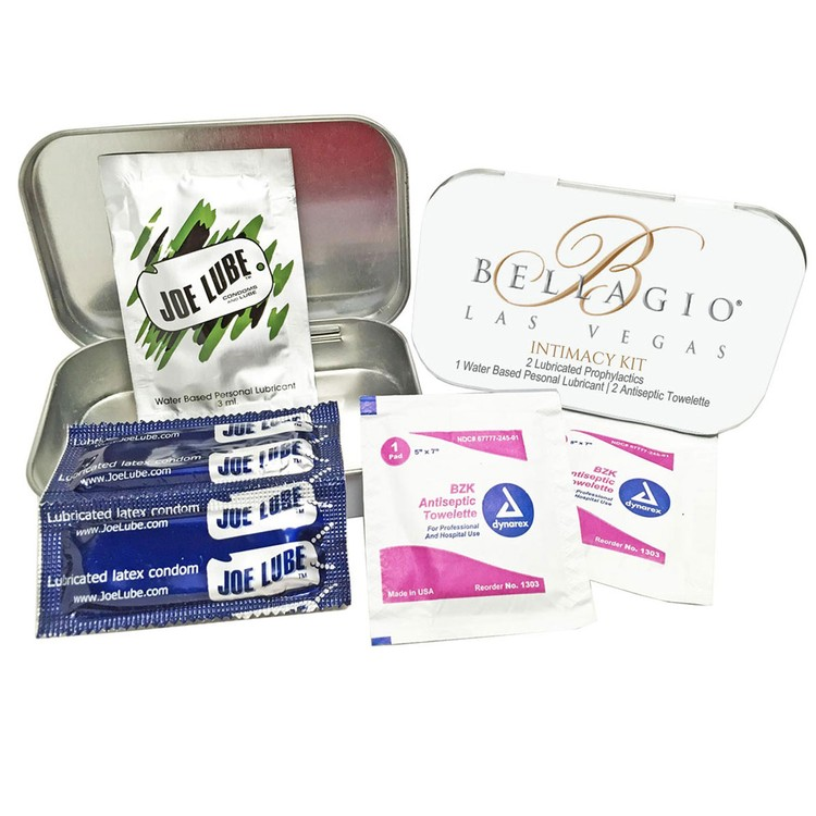 Private Label Intimacy Kit Hotel Resort Hospitality Travel
