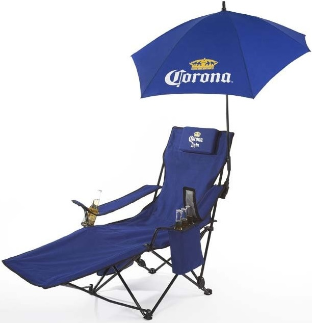 custom umbrellas logo print chair cooler bar combination display promotion corporate gifts