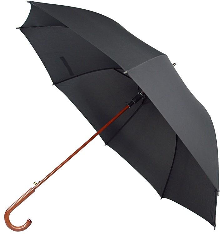 60 Inch Auto Open Wood Shaft and Hook Handle Umbrella SALE