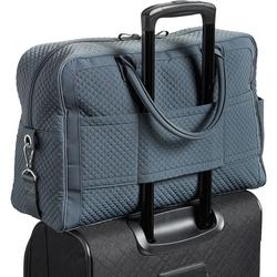 Vera Bradley Iconic Weekender Travel Bag - Charcoal  22253541 22253-541 c0d45bd4df58d