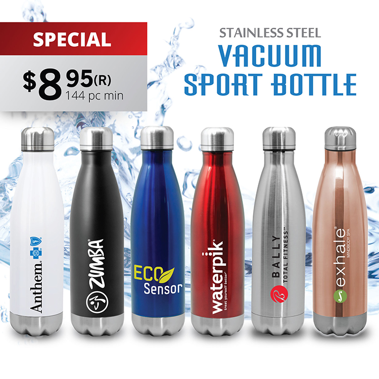QUENCH - STAINLESS STEEL COLA BOTTLE