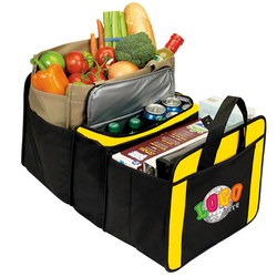20 Cans Cooler Trunk Organizer - Insulated Bags