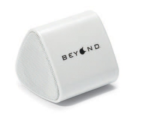 Catalyst Triangular Bluetooth Speaker - (White) - White