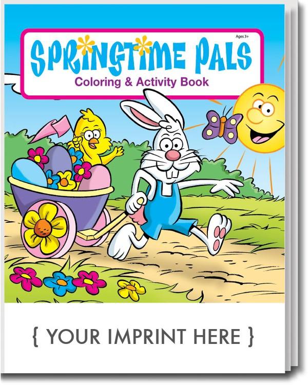 COLORING BOOK - Springtime Pals Coloring & Activity Book